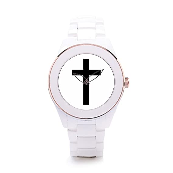 429c526fa2be Algunos diferentes hombres de cerámica color blanco reloj de pulsera  deportivo  Amazon.es  Relojes
