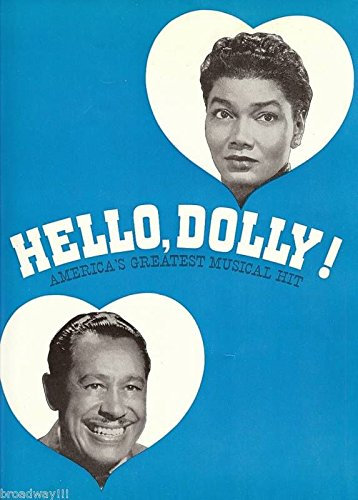 "Pearl Bailey""HELLO DOLLY"" Cab Calloway/Jerry Herman 1967 Broadway Souvenir Program"