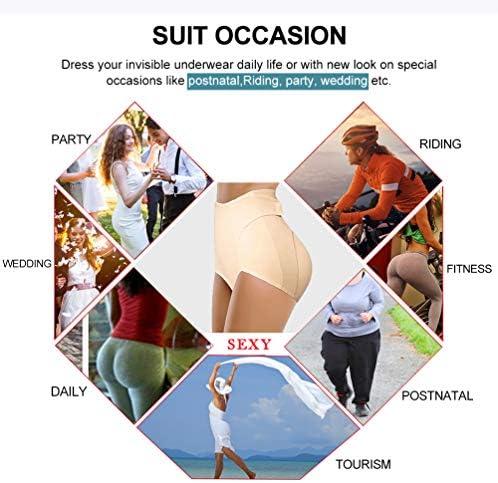 Womens Padded Underwear Butt Lifter Hip Enhancer High Waist Shapewear Toning Buttock Tummy Control Pantie