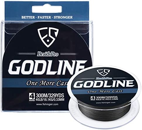 FISHINGSIR GODLINE Braided Fishing Line