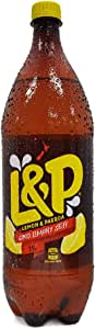 L & P Lemon & Paeroa Drink (Pack of 8), 8 x 1500 ml