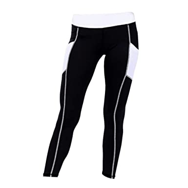 Fitness Gymnastik Leggings Yoga Damen Kompression Lang Hosen Homyl RwAqtt