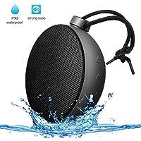 AlierGo SoundAce Mini IPX5 Waterproof Portable Wireless Bluetooth Shower Outdoor Speaker