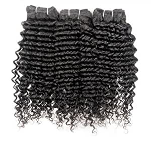 100% Brazilian Remy (Curly) Human Hair - 22in Three Packs 300g