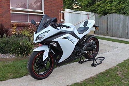 XX eCommerce Motorcycle Motorbike Black /& White ABS Fairing Injection Bodywork for 2013 2014 2015 Kawasaki Ninja 300 EX300R EX-300R