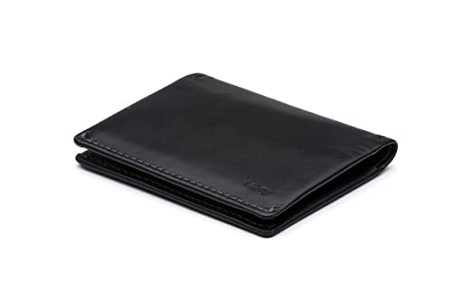 Cartera de piel Bellroy para hombre Slim Sleeve Black: Amazon.es: Equipaje