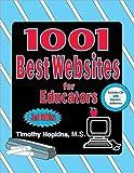 1001 Best Websites for Educators, Timothy Hopkins, 0743934660