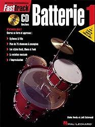 Fast Track Méthode de Batterie Volume 1 + CD