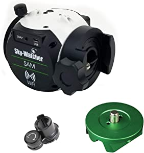 Sky Watcher Star Adventurer Mini (SAM) – Motorized DSLR Night Sky Tracking Mount For Portable Nightscapes, Time-lapse, and Panoramas –Wifi Enabled App Control – Long Exposure Imaging, Black