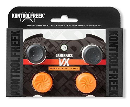 KontrolFreek GamerPack VX for PlayStation 3 (PS3) and Xbox 360 Controller | Performance Thumbsticks | 3 High-Rise, 1 Mid… 1