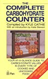Complete Carbohydrate Counter, Kyle Cathie, 0330307266