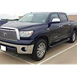 iBoard (Black Powder Coated Running Board Style) Running Boards | Nerf Bars | Side Steps | Step Rails For 2007-2018 Toyota Tundra CrewMax Pickup 4-Door