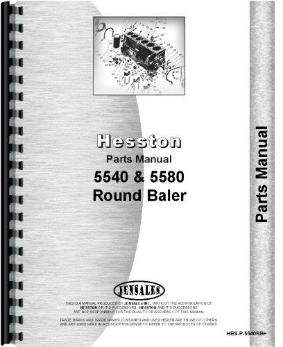 Hesston the best amazon price in savemoney hesston 5540 round baler parts manual ccuart Images