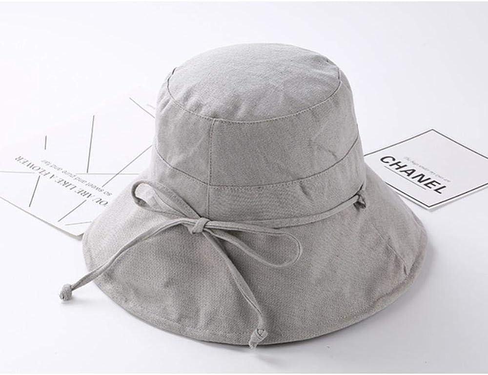 Caps Bucket Hat Black Summer Casual//Caps Hip Hop Outdoor Couple Fashion Panama Sun Fishing Flat Hat B