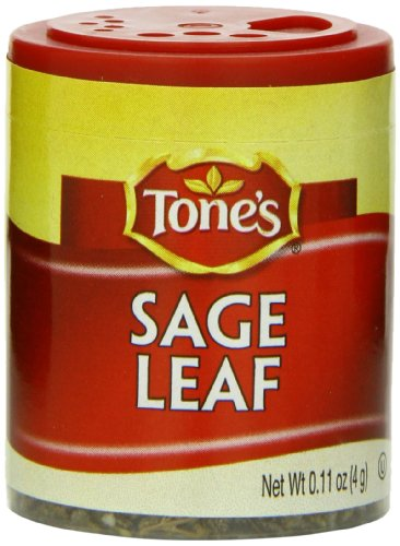 Tone's Mini's Sage, Leaf, 0.11 Ounce (Pack of 6)