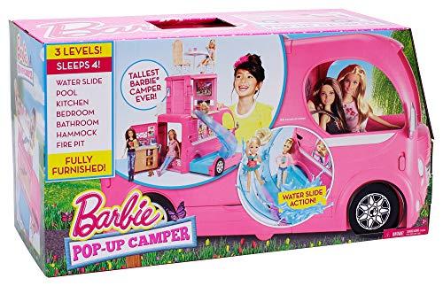 Barbie Pop Up Camper Vehicle Amazon Exclusive Buy
