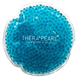 TheraPearl Round Pearl Pack, Non Toxic Reusable Hot Cold Therapy Pack with Gel Beads, Flexible Hot and Cold Compress, Best Ice Pack for Pain Relief, Swelling, and Sports Injuries
