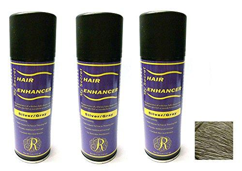 My Secret Correctives Hair Enhancer Spray for Fine or Thinning Hair - 5 oz each - 3 Cans - SILVER/GRAY