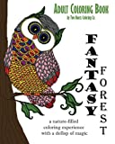 Adult Coloring Book: Fantasy Forest (Adult Coloring Books) (Volume 2) by Two Hoots Coloring