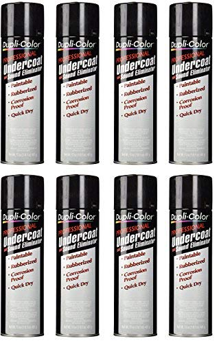 Dupli-Color® UC102 Professional Rubberized Undercoat and Sound Eliminator - 17 oz. (8)
