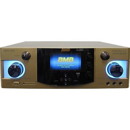 Amazon com: BMB DAS-300 (SE) 600W 4-Channel Karaoke Mixing