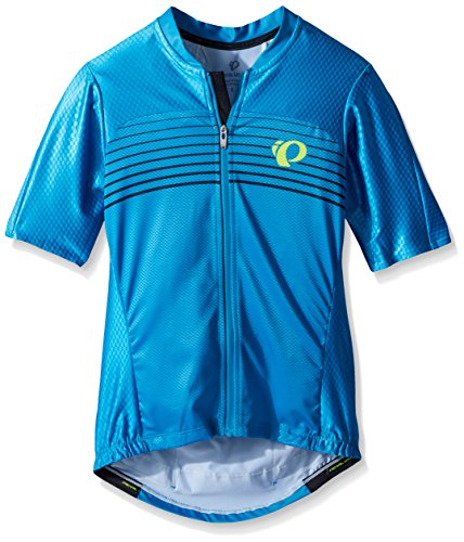 Pearl iZUMi Pro Pursuit SPD Jersey, Atomic Blue Diffuse, X-Large - Edge Pro Jersey