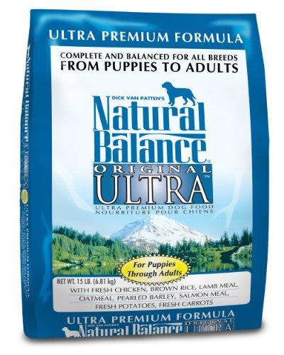 Natural Balance Dry Dog Food, Ultra Premium Formula, 15 Pound Bag, My Pet Supplies
