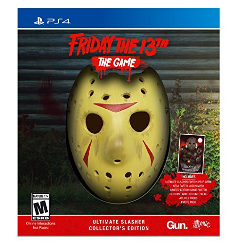 Friday The 13th: The Game Ultimate Slasher Collector's Edition – PlayStation 4