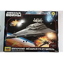 Star wars Imperial Star Destroyer Model kit 9057 in box by Zvezda