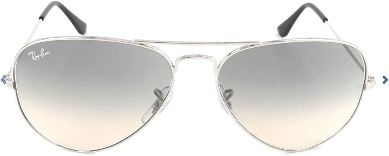 Ray-Ban - Gafas de sol unisex, dorado, Medium (Talla fabricante: 55)
