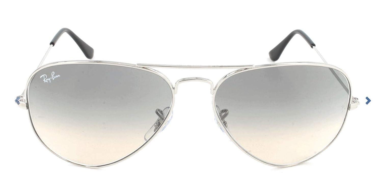 Ray-Ban 3025003/32 58 - Gafas de sol unisex, plateado ...