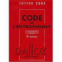 Code de l'environnement 2005
