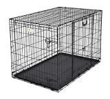 Ovation Trainer Double Door Dog Crate Size: 48″ For Sale