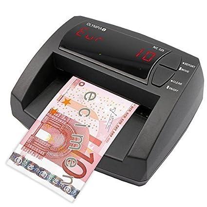 Olympia NC 325 automático billetes falsos – Update Bar – Pantalla LCD – Contador de dinero