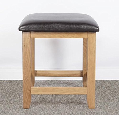 bedroom stool. Devon Solid Oak Dressing Table Stool  Fully Assembled Bedroom Furniture Living