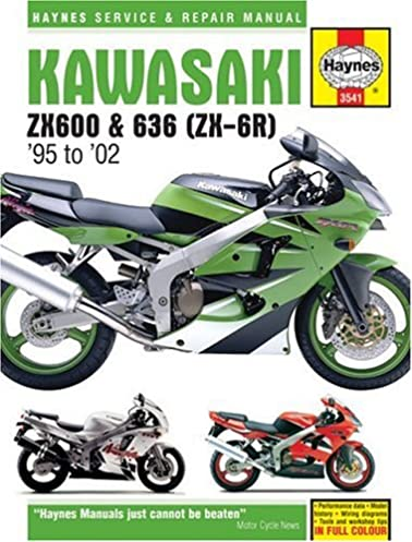 kawasaki zx 6r service and repair manual haynes service and repair rh amazon co uk 2002 Kawasaki Ninja ZX6R 2002 Kawasaki Ninja ZX6R