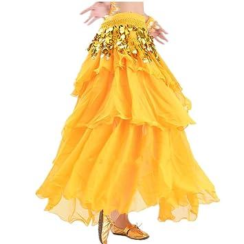 Vestido de Baile Falda de Danza del Vientre Falda de Danza del ...