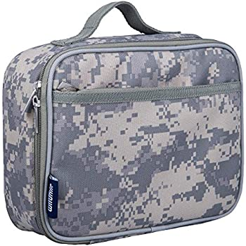 Lunch Box, Wildkin Lunch Box, Insulated, Moisture Resistant, and Easy to Clean with Helpful Extras for Quick and Simple Organization, Ages 3+, ...