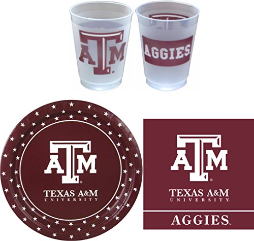 - Westrick Texas A&M Aggies Party Supplies - 81 pieces