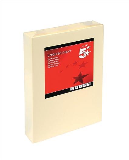 A4 Resma de papel 250 hojas color azul cielo 21 x 29.7 cm Clairefontaine Troph/ée