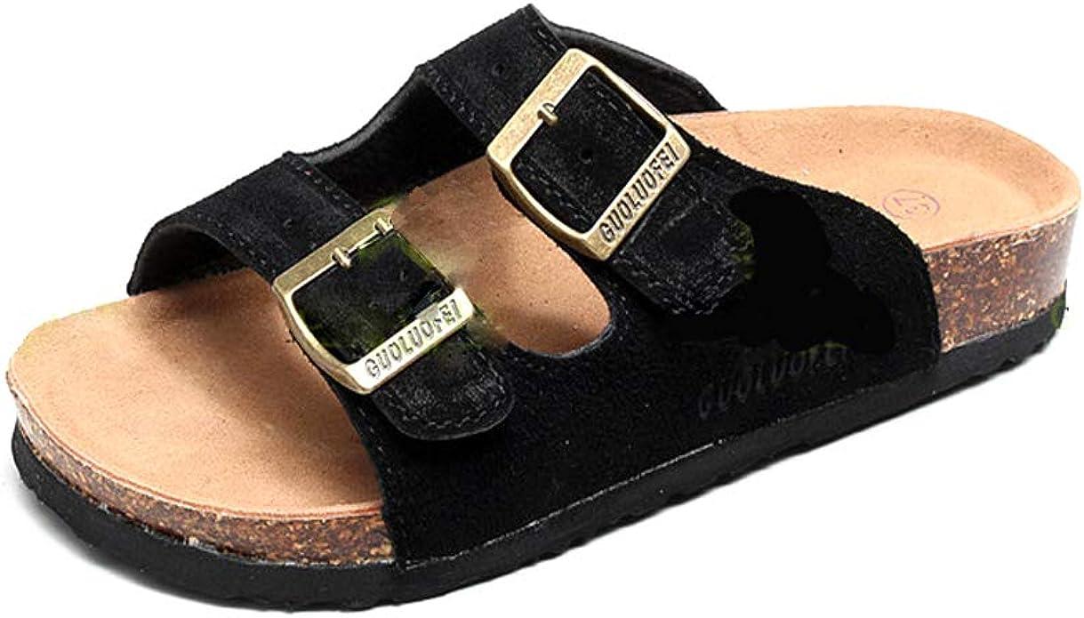 Asifn Women's Slide Sandal Men Cork