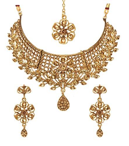 Bindhani Women's Indian Jewelry Simple Bridal Wedding
