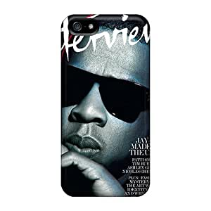 Rugged Skin Case Cover For Iphone 5/5s- Eco-friendly Packaging(jayz)