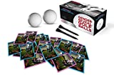 Gender Reveal Exploding Golf Balls with Vibrant Pink Powder + Bonus 20 Team Stickers & 2 Custom Golf Tees: Sex Reveal Party Team Pink (Girl) Official Sardonyx Reveal