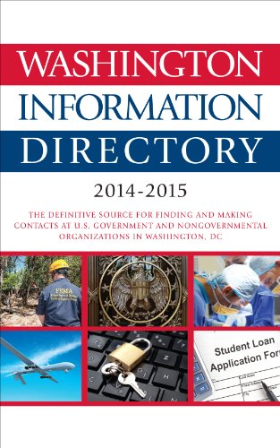 Washington Information Directory: 2014-2015 Pdf