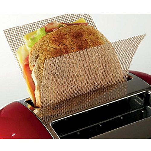 the new alternative to Toaster Bags -by NoStik by NoStik @ WOWOOO U-TOAST-IT Teflon mesh Use 1001 times