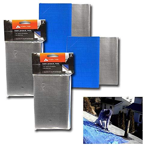 (4 Pc Tarp Repair Tape 6