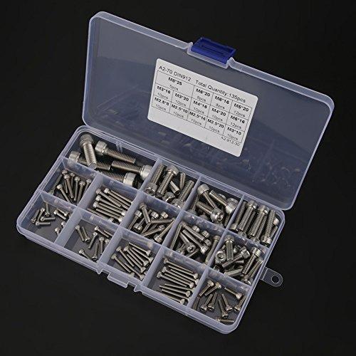 六角穴付きボルト、木ネジステンレスウッドネジ、家庭用およびオフィス用セルフタッピングネジ、機械、家具、修理M2.5 M3-M6