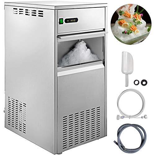 VEVOR Machine à Glaçons 220v Portable Glace Transparents Bar pour La Maison/La Réfrigération De Laboratoire/Les Industries Chimiques/Les Hôtels