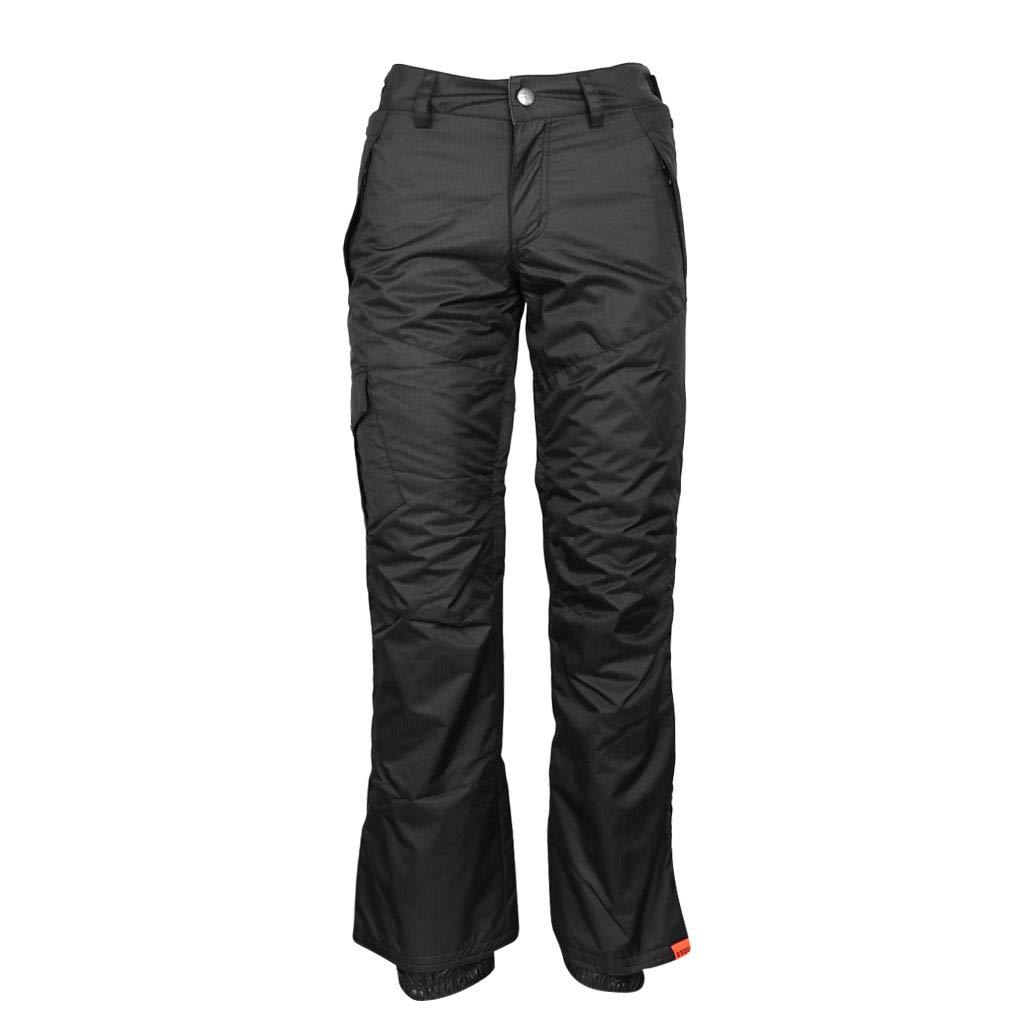 Black SM SunniMix Premium Women Windproof Hiking Snow Ski Pants Trousers Sports Outdoor Warm BreathableSnow Sportswear